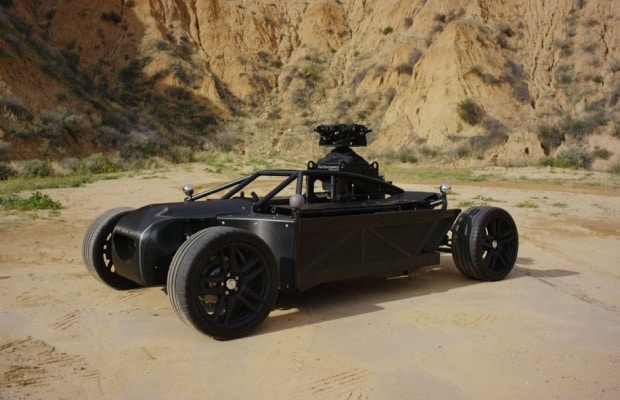 The Mill Blackbird revoluciona produções audiovisuais com carros